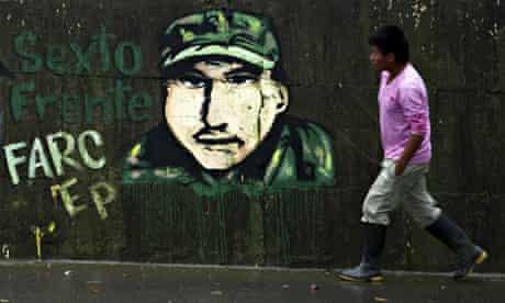 Colombia Farc mural