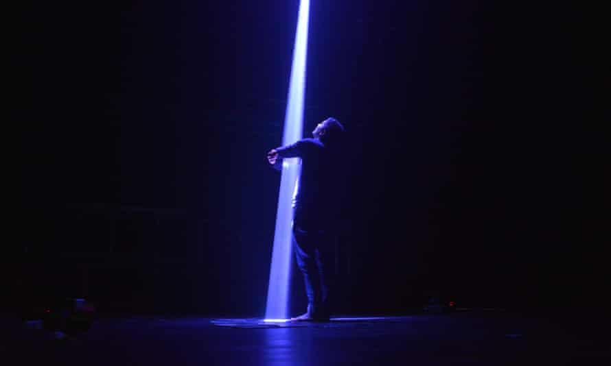 Assemblance, a three-dimensional interactive light field by Usman Haque and Dot Samsen from Umbrellium.