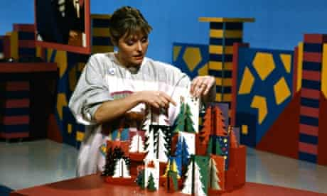 Janet Ellis on Blue Peter