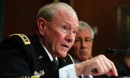 Martin Dempsey and Chuck Hagel