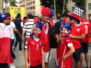 More Chile fans in Rio