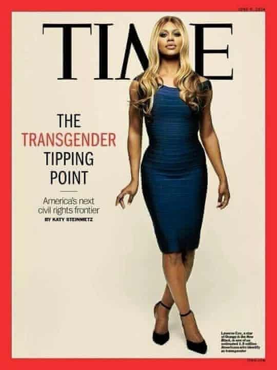 Laverne Cox TIME cover.