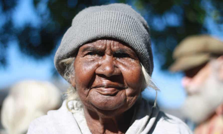 Milwayi elder and traditional owner Bunny Nabarula, who gave evidence about her clan's ownership of the Muckaty Station land.