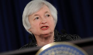 Federal Reserve Chair Janet Yellen speaks during a news conference at the Federal Reserve in Washington, Wednesday, June 18, 2014.