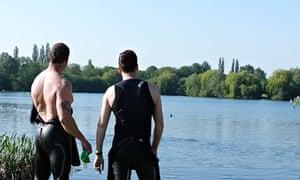 Shepperton Lake, Shepperton, London