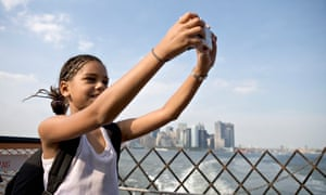 Girl on Staten Island Ferry
