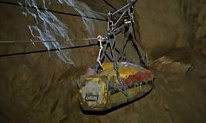 German cave rescue