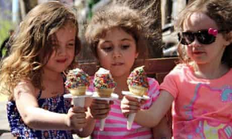 Kids at Big Gay Ice Cream, New York.