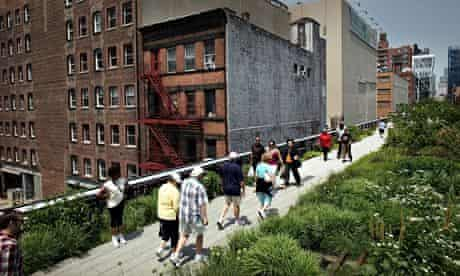 The High Line, Lower West Side.