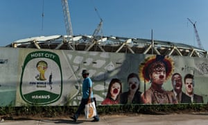 World Cup mural