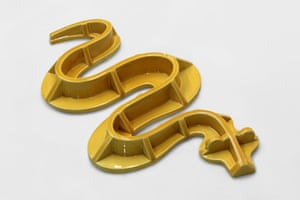 Engineering Snake, 2012, by Richard Slee