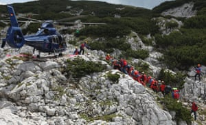 The final stretch marked the end of an intensive rescue operation that lasted nearly a week.