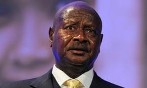 Ugandan president, Yoweri Museveni.