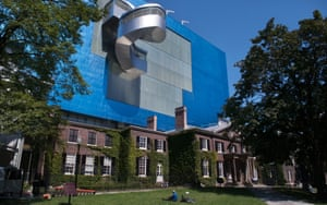 Architect Frank Gehry remodelled Toronto's Art Gallery of Ontario.