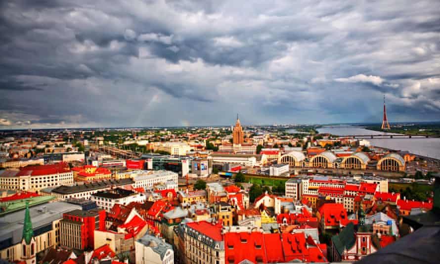 Latvia's capital, Riga.
