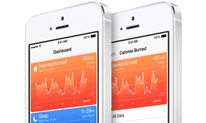 Apple is releasing a Health app as part of its iOS 8 software.