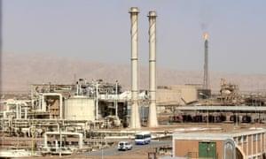 The Baiji oil refinery in 2009.