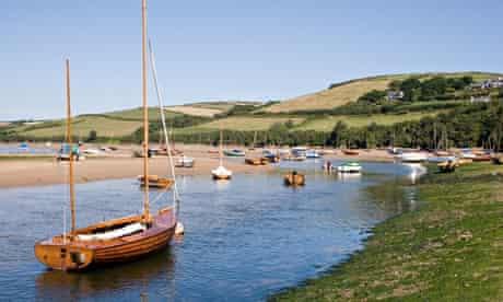 Avon estuary, Bantham, south Devon