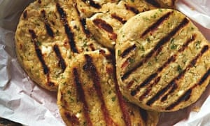 Mary-Ellen McTague's butterbean, feta and spring onion burgers