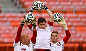 David de Gea and Iker Casillas
