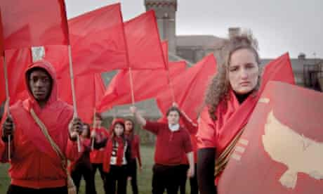 Students from Brentside high school in their film An Ealing Trilogy