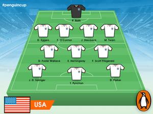 Penguin Cup USA squad