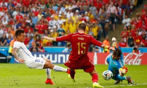 Reigning world champions Spain crashed out of the World Cup 2014 on Wednesday