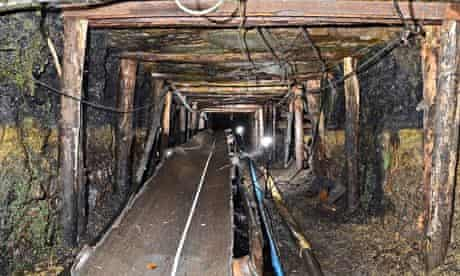 Gleision drift mine in south Wales, where four miners died in a flood