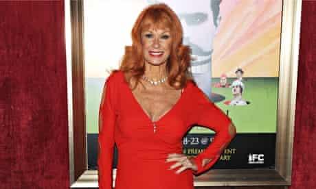 Carol Cleveland, the 'seventh Python'.