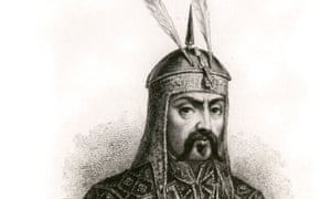 Genghis Khan. Not exactly troubled by his conscience.