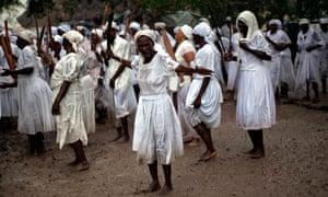 voodoo ceremony Haiti