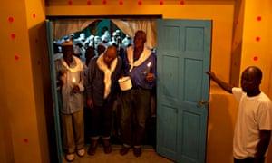 Voodoo temple Haiti