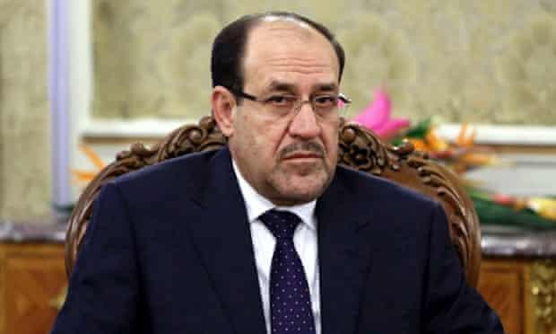 Iraqi PM Nouri al-Maliki.