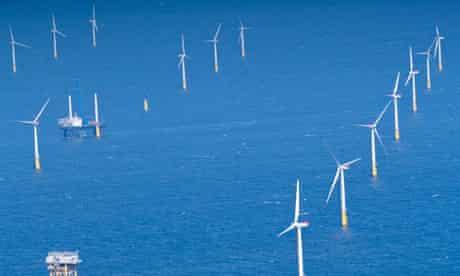 Gwynt y Mor windfarm