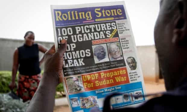 uganda anti-gay law newspaper