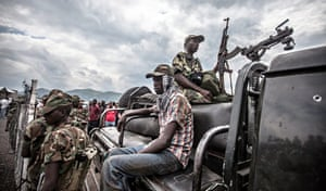 Goma, in Congo DRC decleared to be under the control of M23 rebels