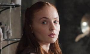 Sansa … newly regal.