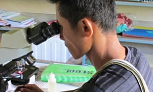 Mae Sot malaria clinic