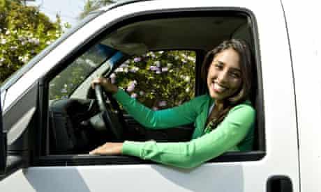 White van woman
