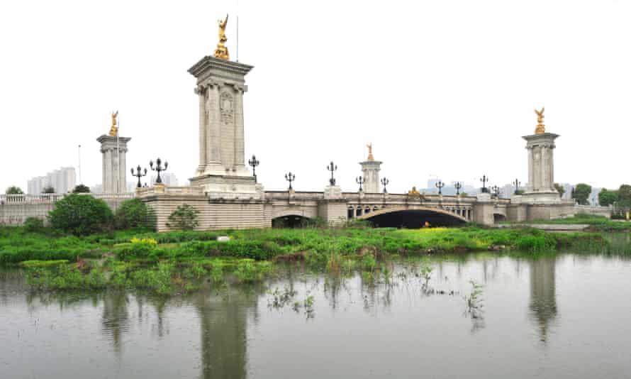 Suzhou's Pont Alexandre III Bridge