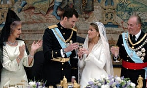 The wedding of Crown Prince Felipe and Letizia Ortiz