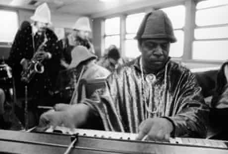 Sun Ra and his Arkestra in New York in 1967