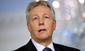Northern Ireland first minister Peter Robinson