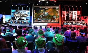 Professional video gaming becoming global spectator sport
