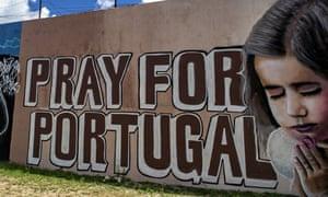Portugal economy graffiti