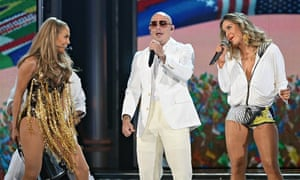 Jennifer Lopez, Pitbull and Cláudia Leitte