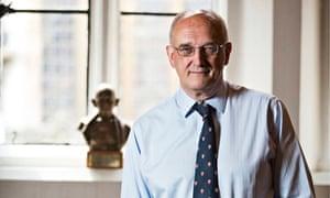 Prof Sir Leszek Borysiewicz, vice-chancellor of Cambridge University.