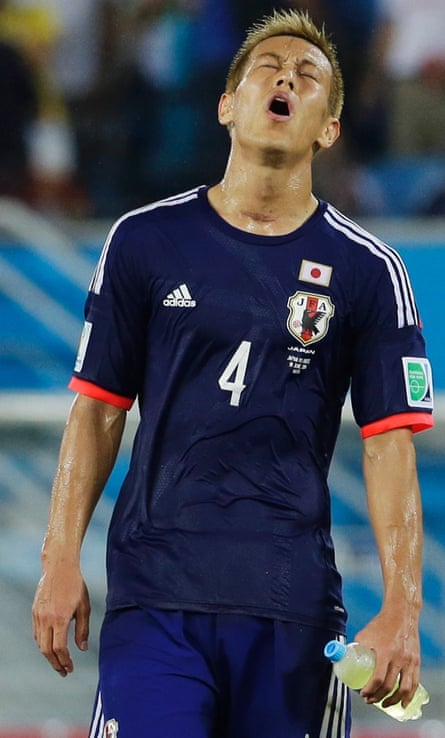 Keisuke Honda regret Japan's lame and toothless display.