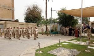 Australian military in Baghdad 2011