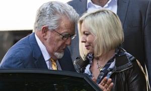 Rolf Harris with Bindi